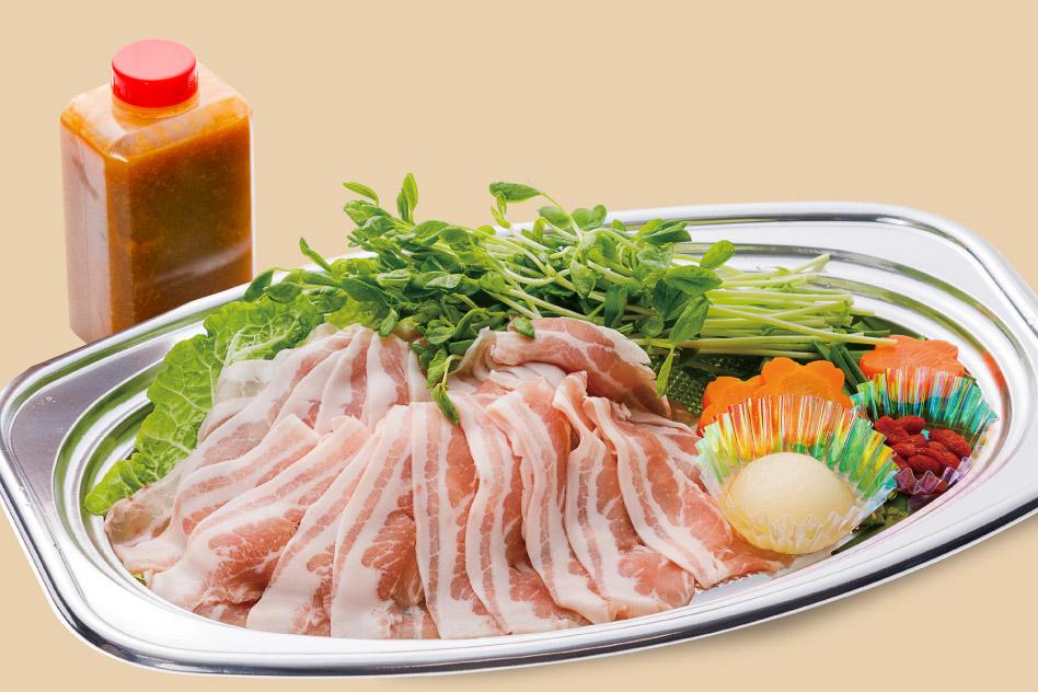 フカコラーゲン入り八雲豚のゴマミソ鍋 【1人前】