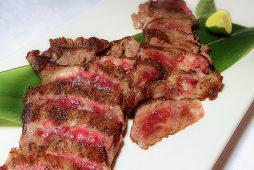 特選メニュー<br /> 北海道北斗市産 北斗黒毛和牛のステーキ 和風仕立て