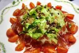 イタリアンハムと<br /> キヌアのサラダ