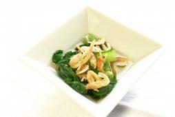 桜海老と小松菜のお浸し