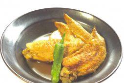 鶏手羽と大根のカレー風味