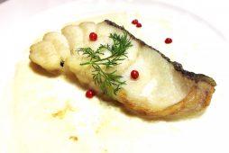 真鱈のポワレ<br /> ブルーチーズソース
