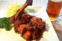伊達産鶏レッグのピリ辛揚げ