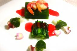 小松菜葛豆腐