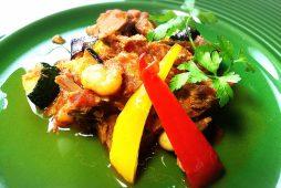 牛肉と夏野菜のラグー