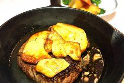 牛ヒレ肉のステーキ<br /> フォアグラ添え