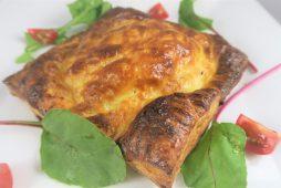 アスパラ ベーコン シェルマカロニのパイ包み焼き