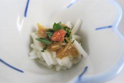 長芋のナメタケ掛け 梅風味