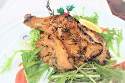 知床鶏の香草焼き