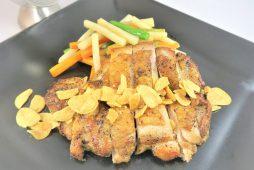 チキンンガーリックステーキ